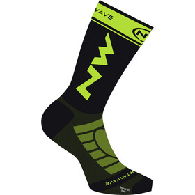 Northwave Extreme Light Pro Chaussettes, black/lime fluo